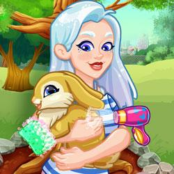 Crystal Adopts a Bunny